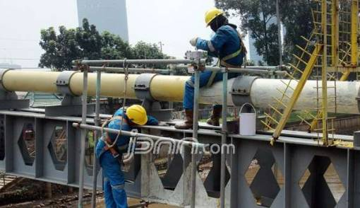 Pipa Gas PGN di Cawang Bocor, Sejumlah Pelanggan Terdampak - JPNN.COM