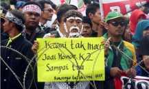 Korwil Honorer K2 Tantang Pemerintah Pusat Beri Sanksi ke Pemda Bandel