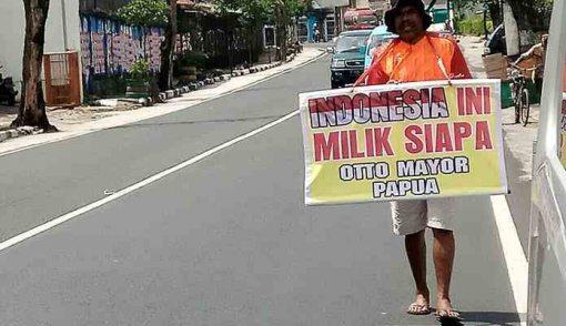 Aksi Solo Otto: Indonesia Ini Milik Siapa? - JPNN.COM