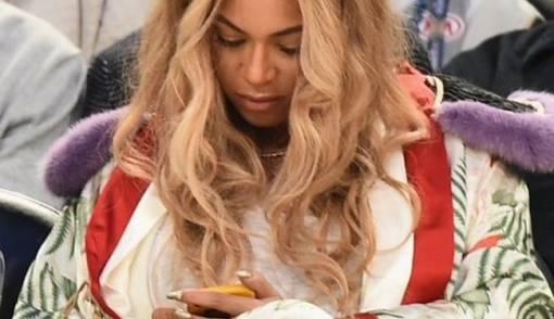 Wow, Beyonce Nonton Basket Pakai Kimono Bernilai Wah - JPNN.COM