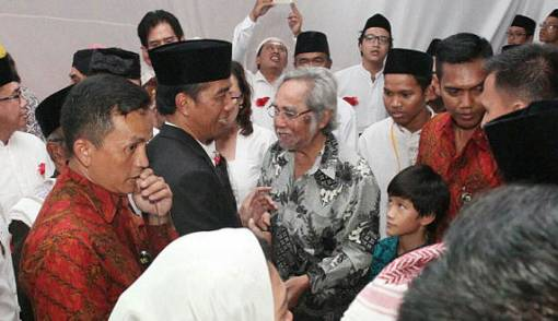 Spirit Pak Sabam Jadi Calon Senator Lagi dan Ajak Orang Baik Pilih Jokowi - JPNN.COM