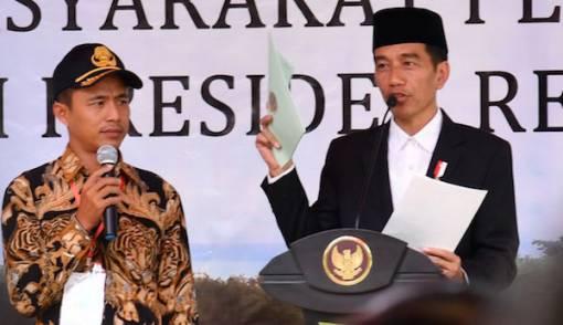 Jokowi: 2023 Seluruh Tanah di Tegal Bersertifikat - JPNN.COM