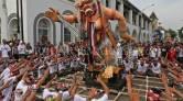 Tak Perlu ke Bali, Ada Festival Ogoh-Ogoh di Ancol - JPNN.COM