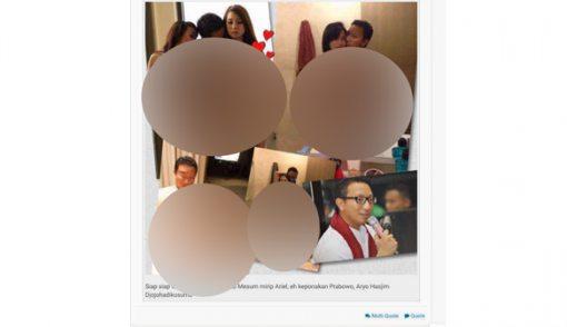 Inilah 4 Foto Syur Diduga Mirip Aryo - JPNN.COM
