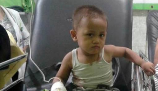 Hamdalah, Bocah Korban Penembakan di Lubuklingau sudah Bisa Tertawa - JPNN.COM