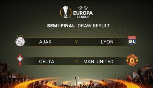 Semifinal Liga Europa: Ajax Jumpa Lyon, MU Ketemu Celta Vigo - JPNN.COM