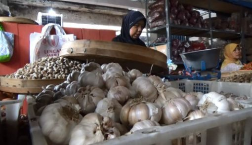 Harga Bawang Putih Melonjak, Pedagang Ogah Jual Kiloan - JPNN.COM