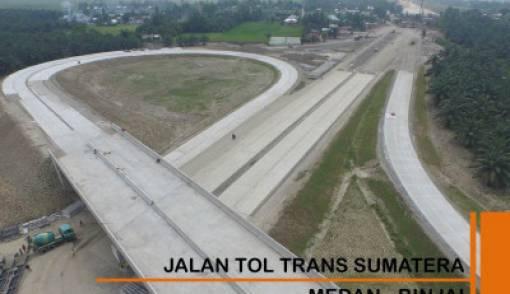 4 Ruas Tol Trans Sumatera Ditargetkan Beroperasi November - JPNN.COM