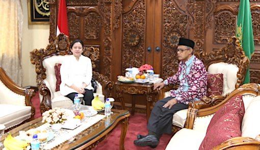 Sinergikan Revolusi Mental, Mbak Puan Bersilaturahmi ke Muhammadiyah - JPNN.COM