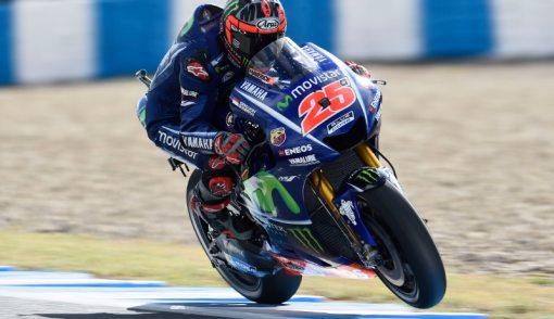 Mendebarkan..Vinales Start Terdepan di MotoGP Prancis - JPNN.COM