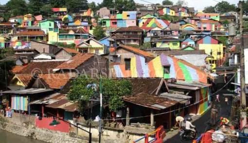 Kampung Pelangi Semarang Mencuri Perhatian Dunia - JPNN.COM