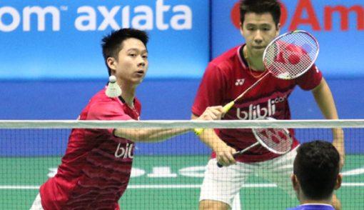 Yes! Marcus Fernaldi/Kevin Sanjaya Maju ke Perempat Final - JPNN.COM