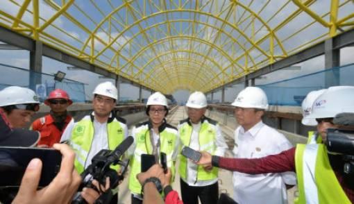 Juli 2018, LRT Sumatera Selatan Beroperasi - JPNN.COM