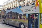 Wow, 16 Bus di Paris Dibranding Wonderful Indonesia - JPNN.COM