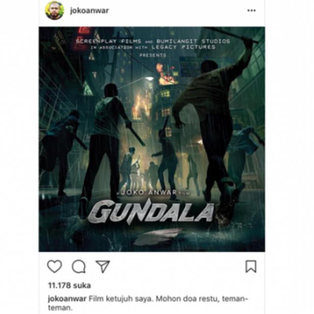 Joko Anwar Ungkap Para Pemain Gundala Entertainment Jpnn Com