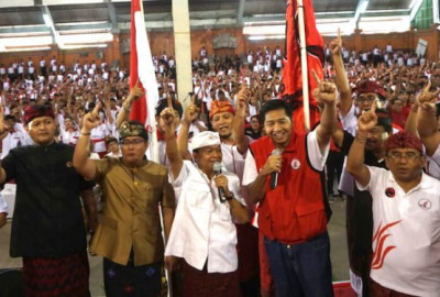 Bang Ara Gerakkan Kader TMP Bali demi Menangkan Koster-Ace