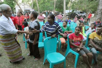 Kunjungan Mama Emi Bangkitkan Optimisme Petani