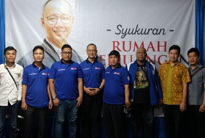 Rumah Perjuangan Eddy Resmi Dibangun di Bogor