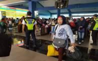 Sebanyak 45.662 Penumpang Pejalan Kaki Kembali ke Jawa