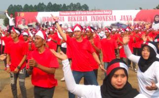 Warga Binaan Ikut Tari Kolosal Indonesia Bekerja dan Cetak Rekor MURI - JPNN.com