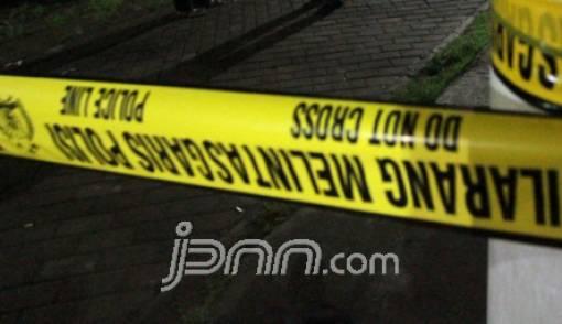 Tabrak Bus Damri, Pemotor Tewas di Depan Hotel Borobudur - JPNN.COM
