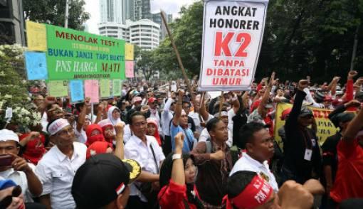 Akankah Ratusan Ribu Honorer K2 Pilih Jokowi? - JPNN.COM