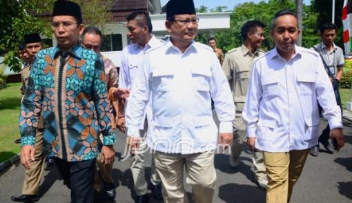 Prabowo - TGB, Perpaduan Kekuatan Militer dan Ulama - JPNN.COM