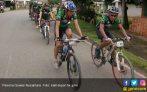 Heboh, GTPN Surakarta Dikawal Polisi Bersepeda - JPNN.COM