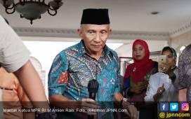 Di Kantor Anies, Amien Tunjuk Foto Jokowi dan Bilang Begini - JPNN.COM