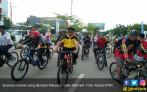 Udara Sejuk Tabanan Iringi 3000 Pegowes Pesona Nusantara - JPNN.COM