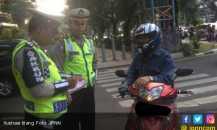Pemotor yang Gemar Lawan Arus ke Asrama Brigif jadi Sasaran Polisi