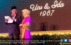 Puisi Romantis Pak JK untuk Ibu Mufidah, Hadirin Ngakak - JPNN.com
