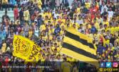 Ratusan Suporter Sriwijaya sudah Berangkat Menuju Pakansari - JPNN.COM