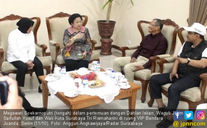Megawati ke Surabaya demi Jaring Masukan untuk Pilgub Jatim