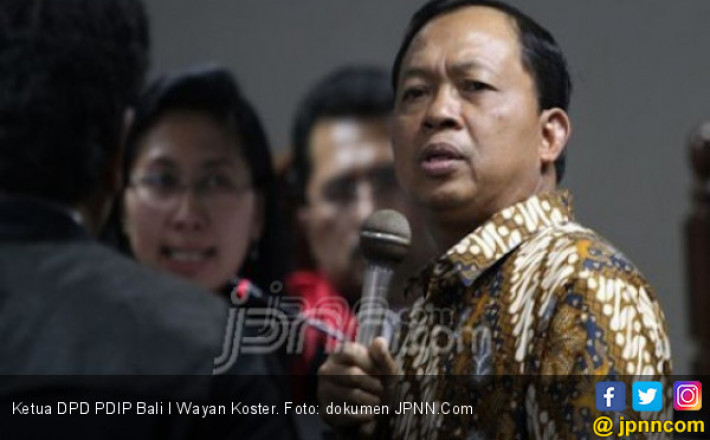 Makin Yakin Koster Bakal Diusung PDIP untuk Pilgub Bali
