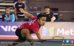 1 Jam Duel dengan Jonatan Christie, Ginting Juara Korea Open - JPNN.COM