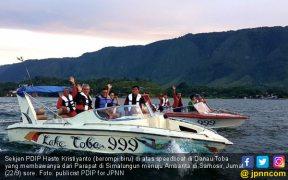 Nikmati Danau Toba, Sekjen PDIP Dorong Warga Peduli Estetika - JPNN.COM