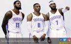Wow! Carmelo Anthony, George dan Westbrook Kumpul di Thunder - JPNN.COM