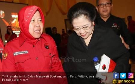 Siapa Kader PDIP Sekuat Tri Rismaharini?