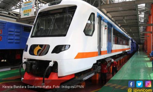 Kereta Bandara Diuji Coba dari Stasiun Bekasi