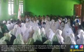 Kirab Pemuda Meriahkan Peringatan HSN 2017 di Sorong - JPNN.COM