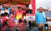 Tim Dayung Perahu Naga Koarmabar Raih Juara Satu - JPNN.COM