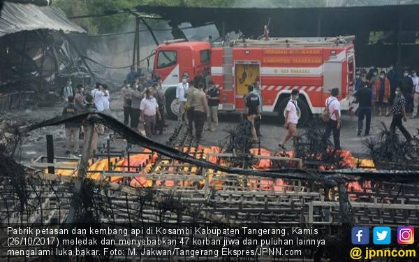 Kemnaker Kirim Tim Pengawas ke Pabrik Kembang Api Kosambi - JPNN.com