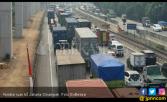 Truk Sumbu Tiga Dilarang Lewati Tol Jakarta - Cikampek - JPNN.COM