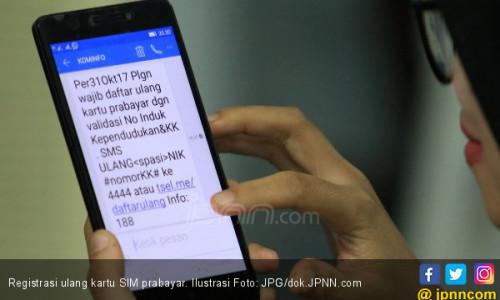 Jangan Sampai Registrasi Nomor Ponsel Disebut Program Gagal