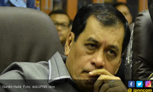 Bukan Ketua Harian Lagi, Nurdin Halid Diberi Tugas Khusus