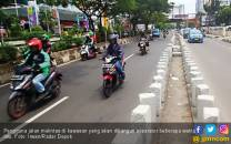 Sebagian Separator Margonda Depok Dibongkar - JPNN.COM