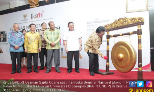 OSO Ajak Dukung Penuh Penegakan Hukum di Indonesia