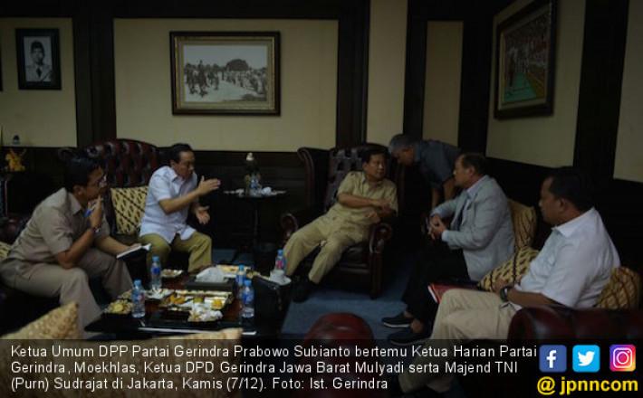 Prabowo Dikabarkan Bakal Tunjuk Sudrajat Jadi Cagub Jabar