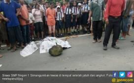 Anak SMP Jatuh dari Angkot, Kepala Pecah Membentur Aspal - JPNN.COM